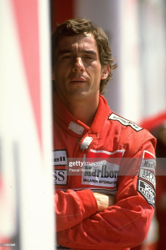 Ayrton Senna : News Photo