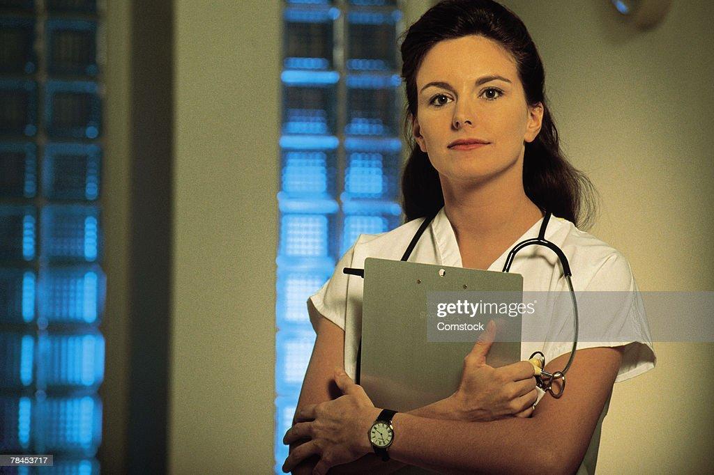 Portrait of medical professional : Stockfoto