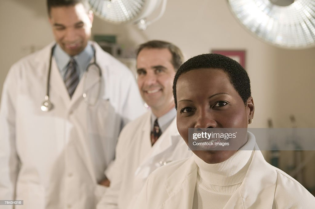 Portrait of medical professionals : Stockfoto