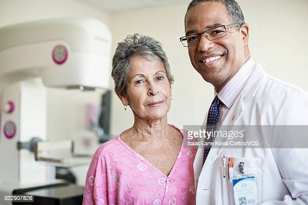 Portrait of medical staff with patient