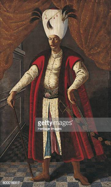 Portrait of Mehmed IV , Sultan of the Ottoman Empire, ca 1681-1682. Found in the collection of Ptuj Ormo? Regional Museum. Artist : Anonymous.