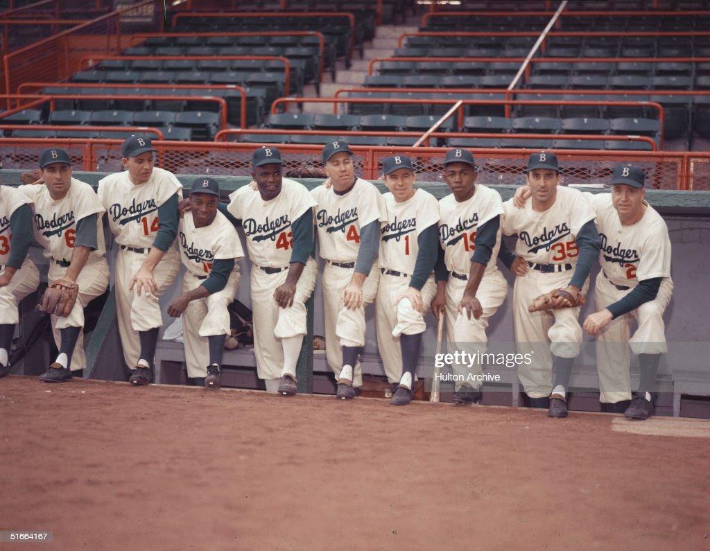 1954 Brooklyn Dodgers : News Photo