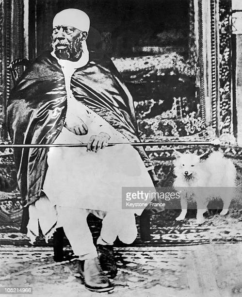 Portrait Of Menelik Ii Emperor Of Ethiopia On June 10 1935