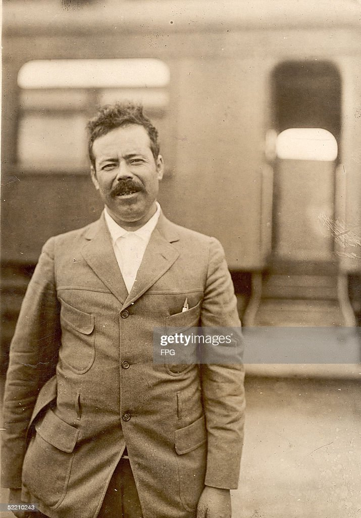 Portrait of Mexican military commander General Pancho Villa (1878 - 1923), late 1910s.