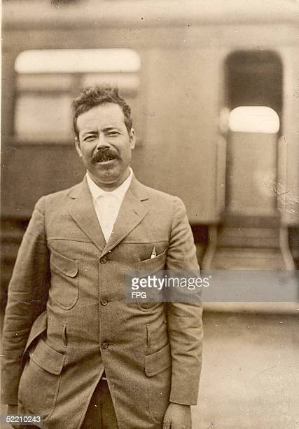 Portrait of Mexican military commander General Pancho Villa late 1910s
