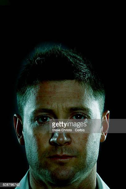 Portrait of Michael Clarke Australian cricketer and captain of the Australian cricket team for both Test and ODI cricket Sydney Australia Tuesday...