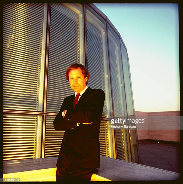 Portrait of Michael Ovitz who cofounded the Creative Artists Agency Los Angeles CA 1987 He also served as the president of the Walt Disney Company