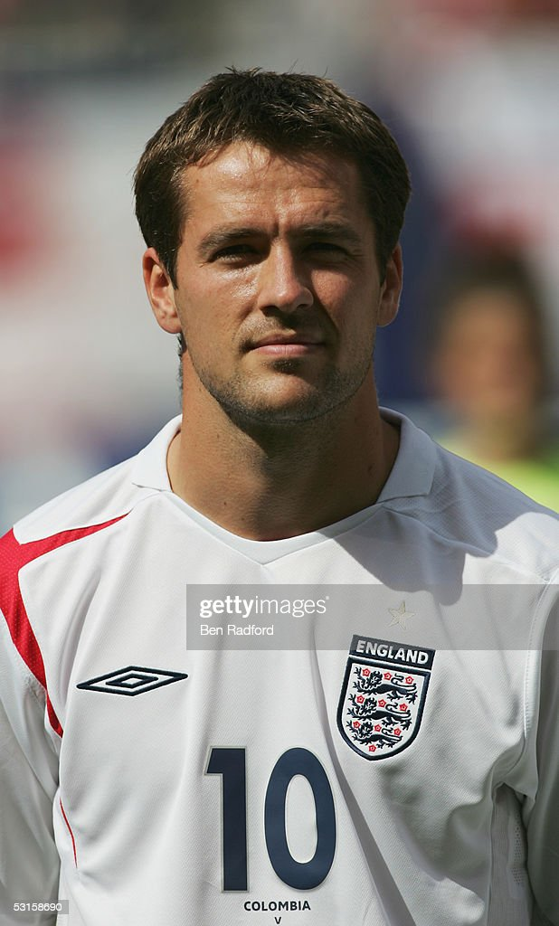 A portrait of Michael Owen of England prior to the international friendly match between England and Colombia held at Giants Stadium on May 31, 2005 in East Rutherford, New Jersey.