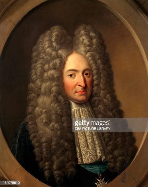 Portrait of Michel de Chamillard French politician France 17th18th century Versailles Château De Versailles