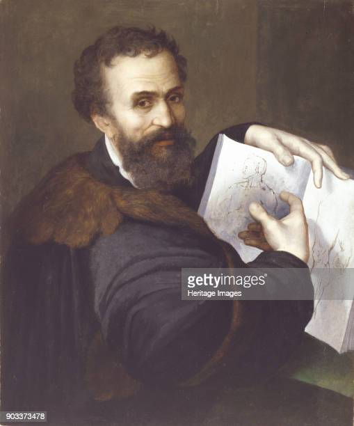 Portrait of Michelangelo Buonarroti Private Collection