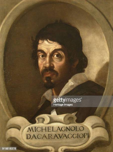 Portrait of Michelangelo Merisi da Caravaggio 17th century Found in the collection of National Museum of Western Art Tokyo