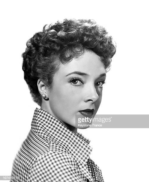 Portrait Of Micheline Presle In 1950