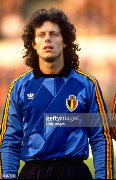 Portrait of Michel''Preud Homme of Belgium before the World Cup qualifying match against the Czech Republic in Belgium Belgium won the match 21...