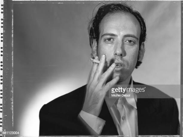 Portrait of Mick Jones, guitarist of Big Audio Dynamite, formely of The Clash. New York City, New York. September 18, 1986.
