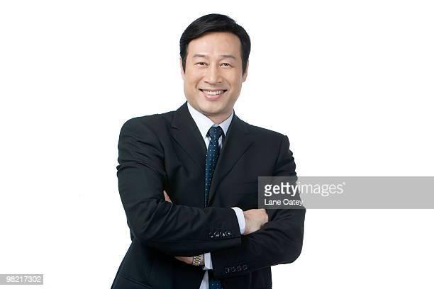 Portrait of Mid Adult businessman