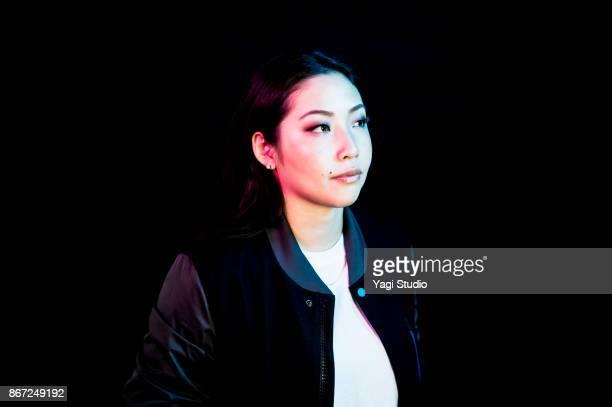 Portrait of mid adult japanese women