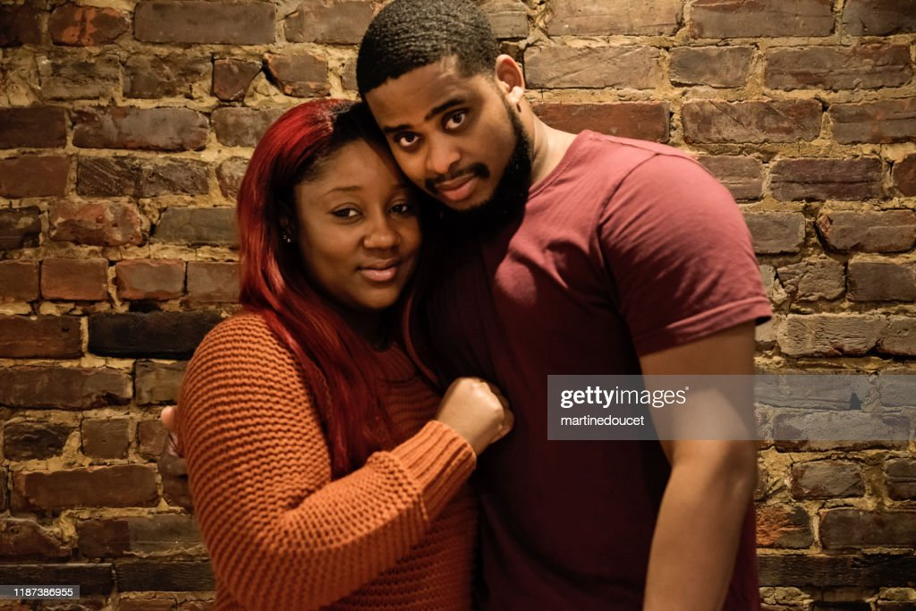 Portrait of mid-adult African-American couple : Stock Photo
