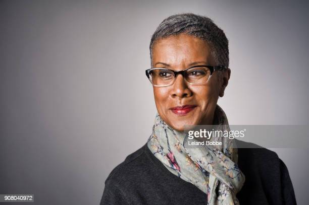 Portrait of middle age African American Woman