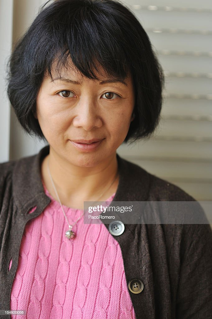 chinese woman aged Middle