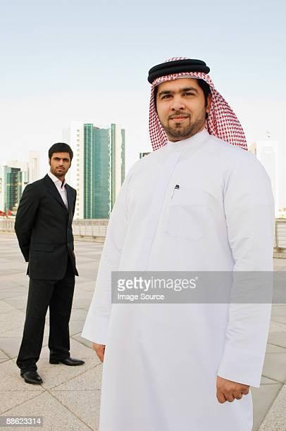 Portrait of middle eastern businessmen