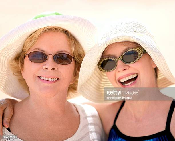 portrait of middle-aged women - drooping stock photos and pictures