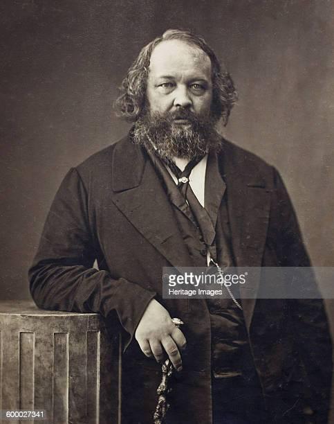 Portrait of Mikhail Alexandrovich Bakunin , ca 1860. Private Collection. Artist : Nadar, Gaspard-Félix .