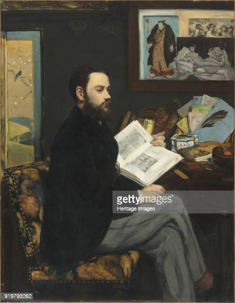 Portrait of Émile Zola 1868 Found in the collection of Musée d'Orsay Paris