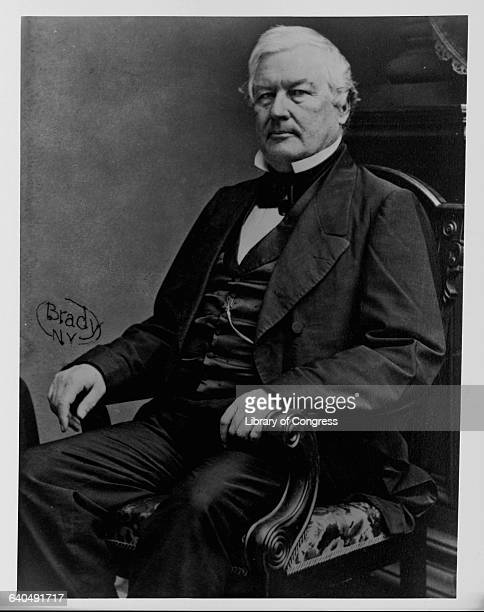 A portrait of Millard Fillmore Fillmore served as Vice President on the Whig ticket with Zachary Taylor and assumed the Presidency upon Taylor's...