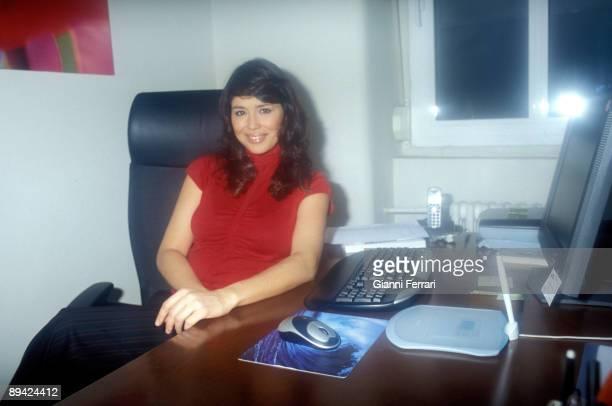 Portrait of Minerva Piquero TV host