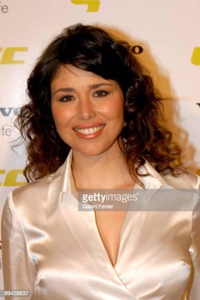 Portrait of Minerva Piquero TV hostess