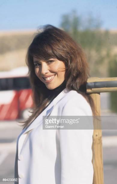 Portrait of Minerva Piquero TV presenter