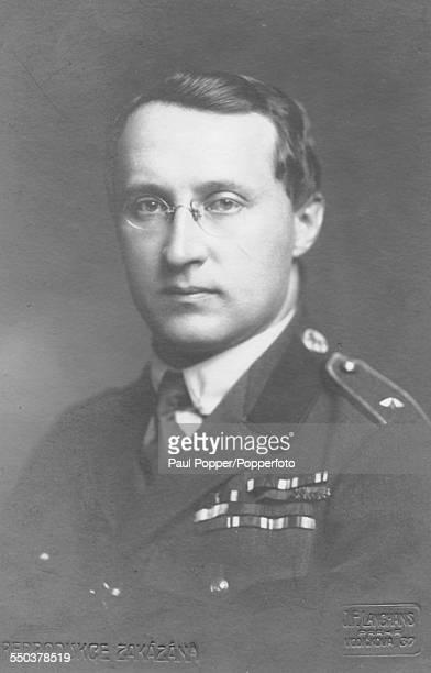 Portrait of Minister of Defence of first Czechoslovak Republic, Otakar Husak pictured circa 1921.
