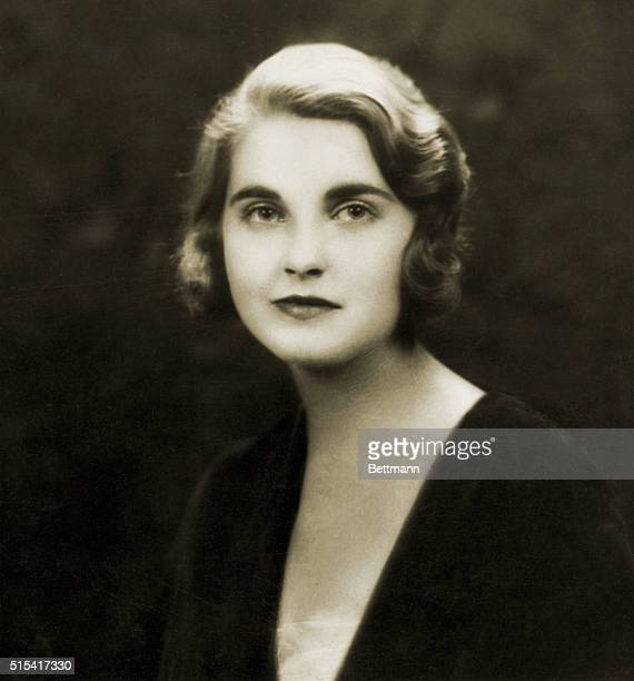 Portrait of Miss Barbara Hutton Woolworth Heiress Picture taken in May 1931 before Miss Hutton was presents to the king and Queen of England by Mrs...