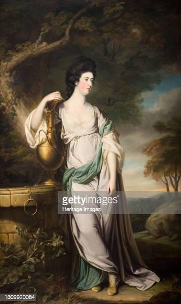 Portrait Of Miss Catherine Eld, 1767. Artist Francis Cotes. .
