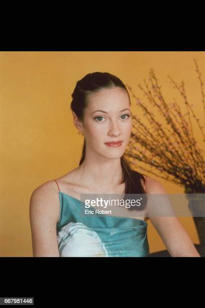 Portrait of Miss France 1999 Mar{va Galantier
