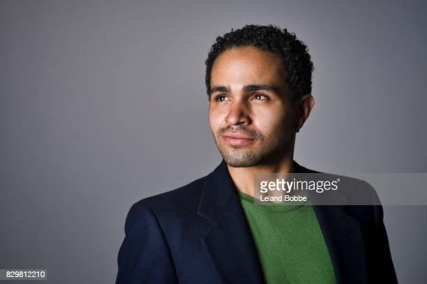 Portrait of Mixed Race Man