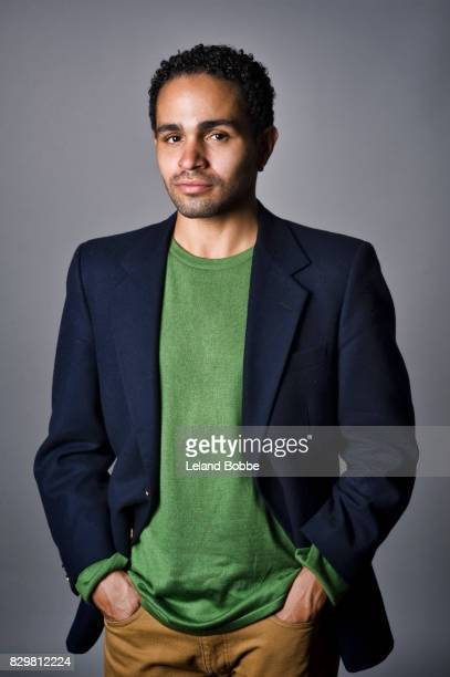 Portrait of Mixed Race Man