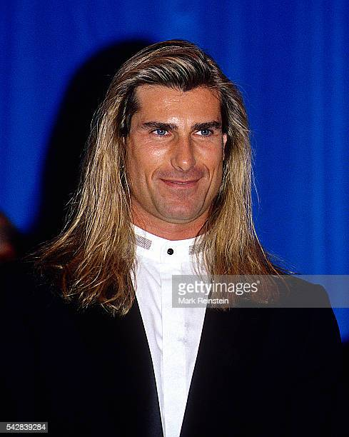 Portrait of model and actor Fabio Lanzoni as he attends at the 18th annual National Italian American Foundation dinner Washington DC October 23 1993