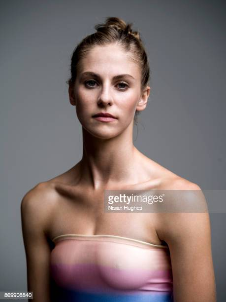 Portrait of Modern Dancer looking directly at camera