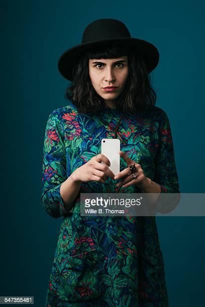 Portrait of Modern Middle Eastern Woman