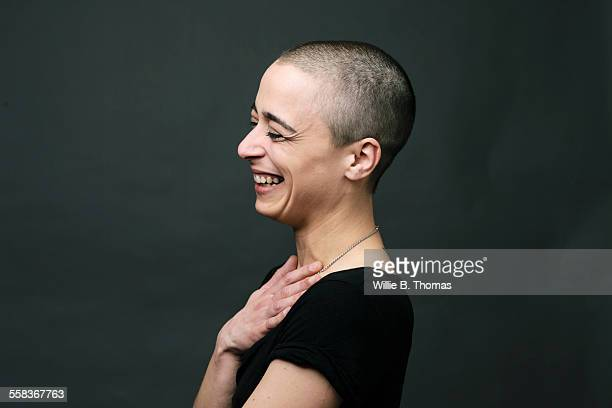Portrait of Modern woman smiling