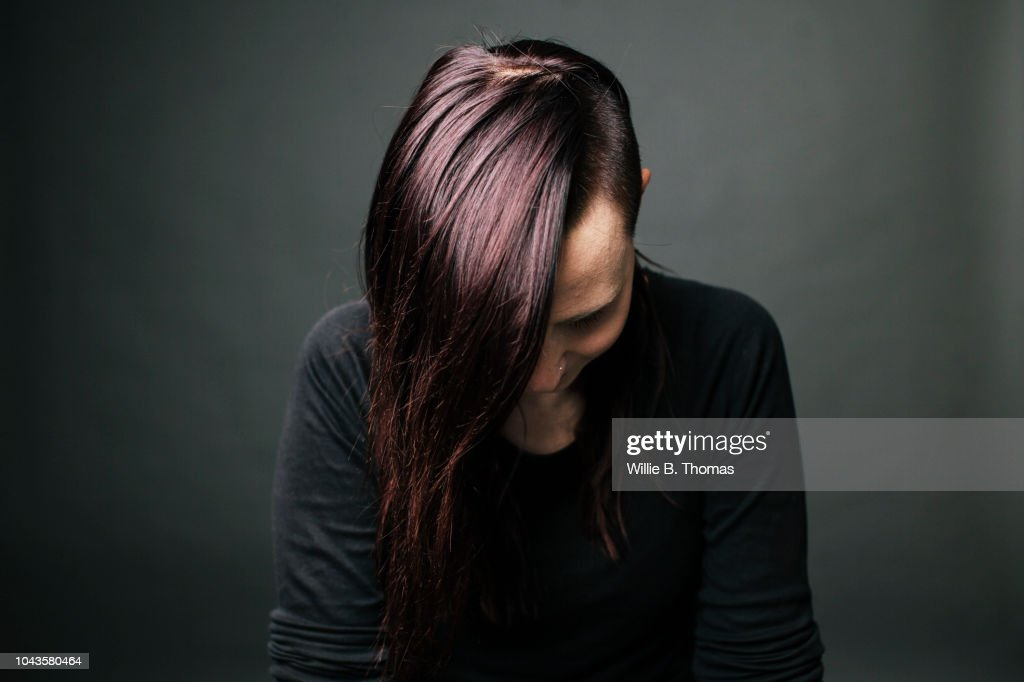 Portrait of modern young Woman : Stock Photo