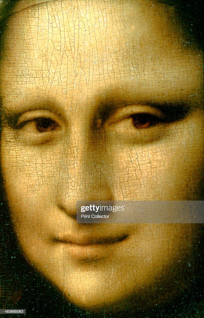 'Portrait of Mona Lisa' (detail), 1503-1506. Artist: Leonardo da Vinci : News Photo