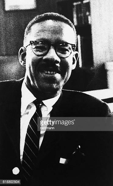 Portrait of Moneta Sleet Jr US Ebony magazine photographer who captured many of the defining images of the US civil rights struggle and won a...