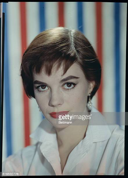 Portrait of Motion Picture Actress Natalie Wood.