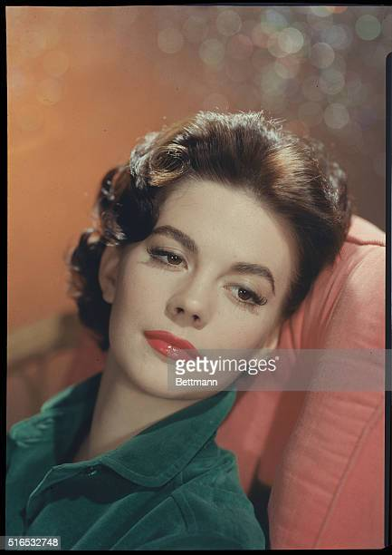 Portrait of motion picture actress Natalie Wood