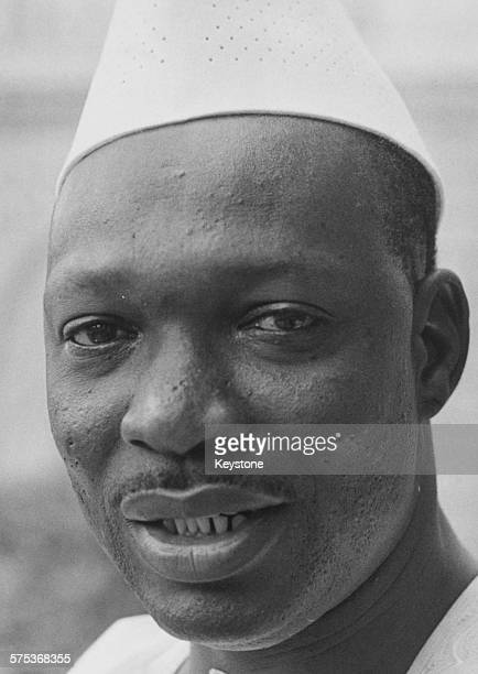 Portrait of Moussa Traore President of Mali circa 1975