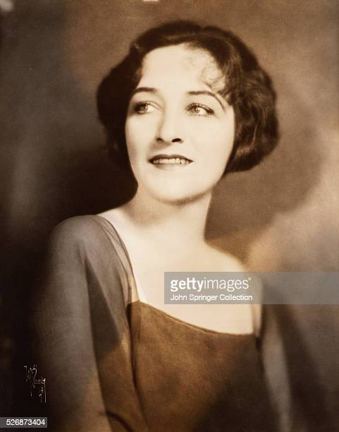 Portrait of movie actress Pauline Frederick Frederick starred in films from 1915 to 1941