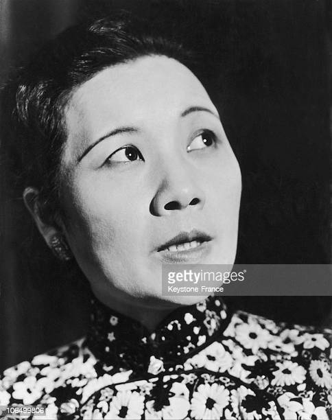 Portrait Of Mrs Chang Kai Shek Around 19551969