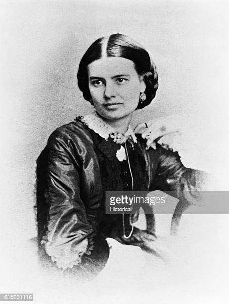 Portrait of Mrs Chester A Arthur She died before her husband became President